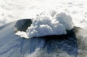 erupsi gunung