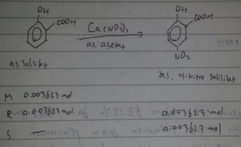 nitrasi fenol