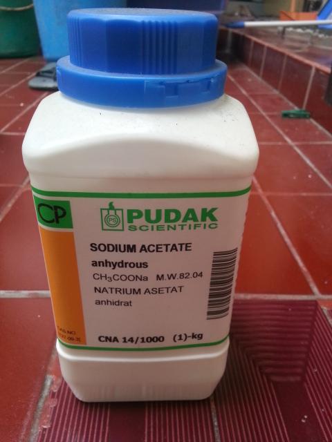 jual natrium asetat ch3coona