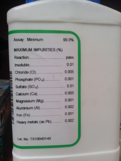 jual natrium aseat PA ch3coona
