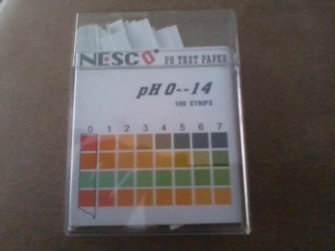 Jual Kertas pH Universal untuk pH 0 - 14