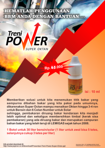 jual treni power super oktan