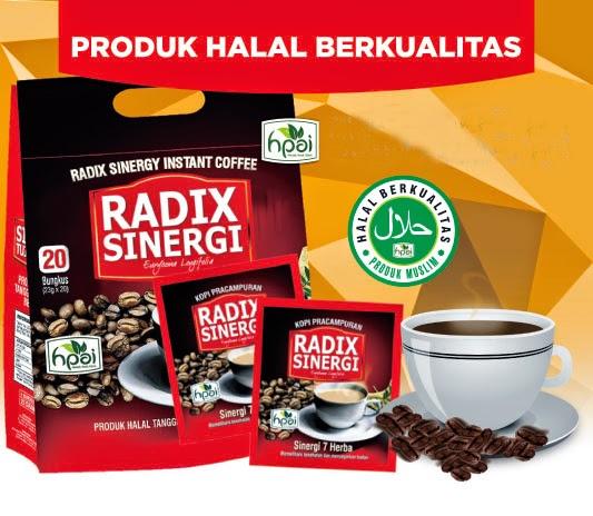 Jual Kopi Radix HPAI Sinergi Resmi Original