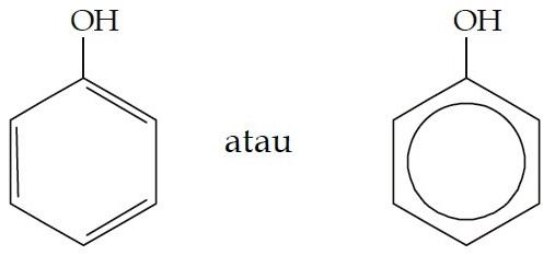 struktur-molekul-fenol
