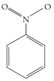 struktur-molekul-nitrobenzena